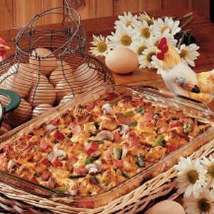 spring breakfast strata - Strata Recipes For Brunch