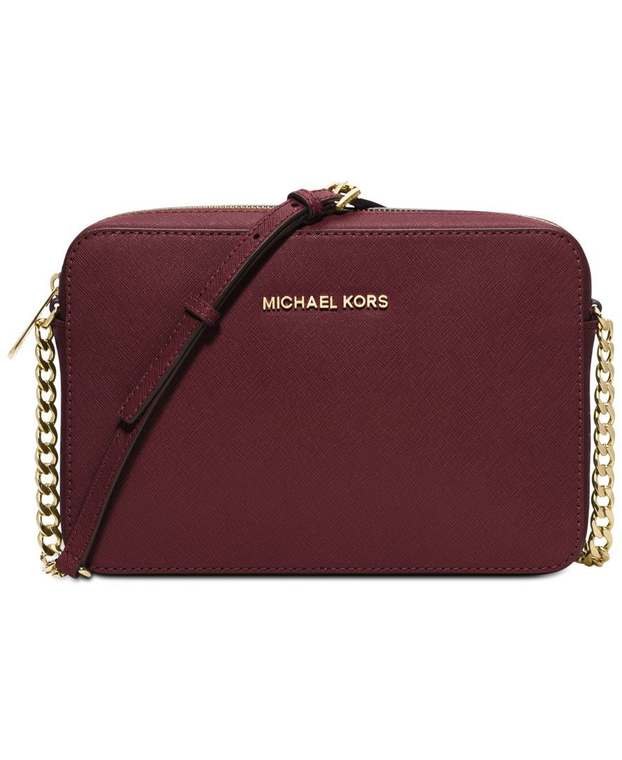 359df24c40 MICHAEL Michael Kors Jet Set Travel Large Crossbody - Crossbody   Messenger  Bags - Handbags   Accessories - Macy s