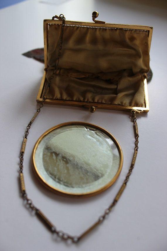 Maglia borsa borsa Vintage borsa di colore dell'acqua di JITTT