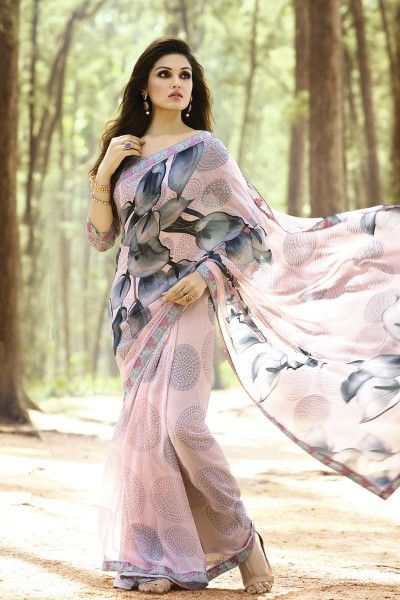 a89ce56300 Pin by Shaily Retails on Printed Floral Sarees | Saree, Saree floral ...