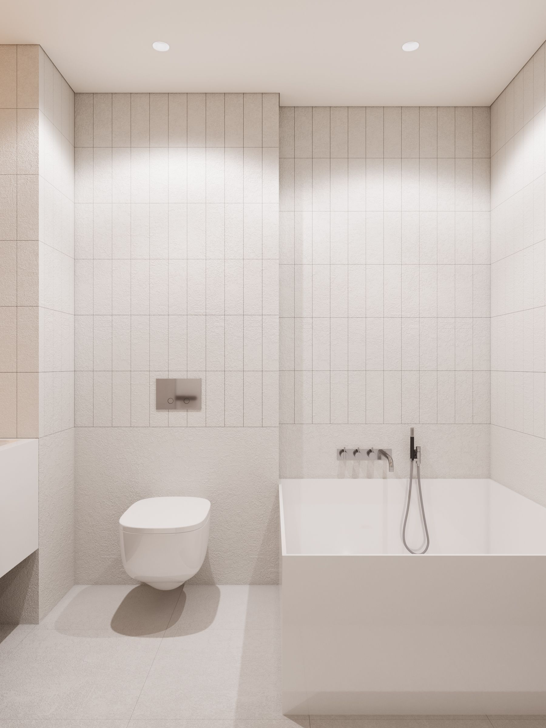 Vertical rectangular subway tile unexpected makes the ceiling vertical rectangular subway tile unexpected makes the ceiling feel higher dailygadgetfo Image collections