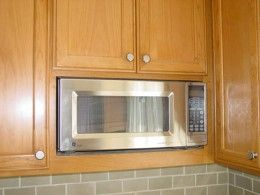 Seven Different Microwave Design Ideas Built In Microwave Cabinet Microwave Microwave Drawer