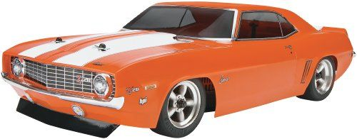 Back in stock HPI Racing 106133 Sprint 2 Sport '69 Camaro Body with 2.4GHz RTR