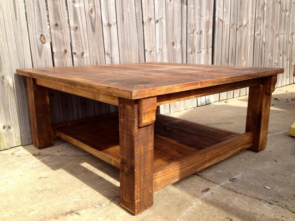 Rustic 4x4 Coffee Table From Arnauds Furniture Https Www