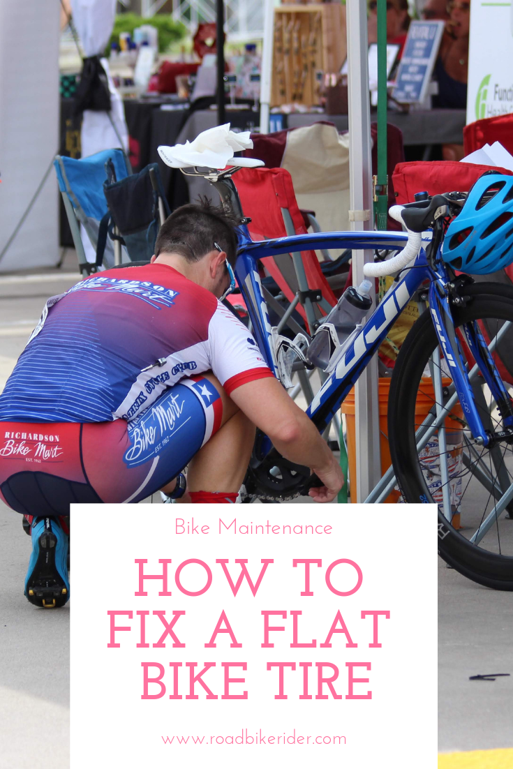 How To Fix A Flat Bicycle Tire The Fast Way Road Bike Rider