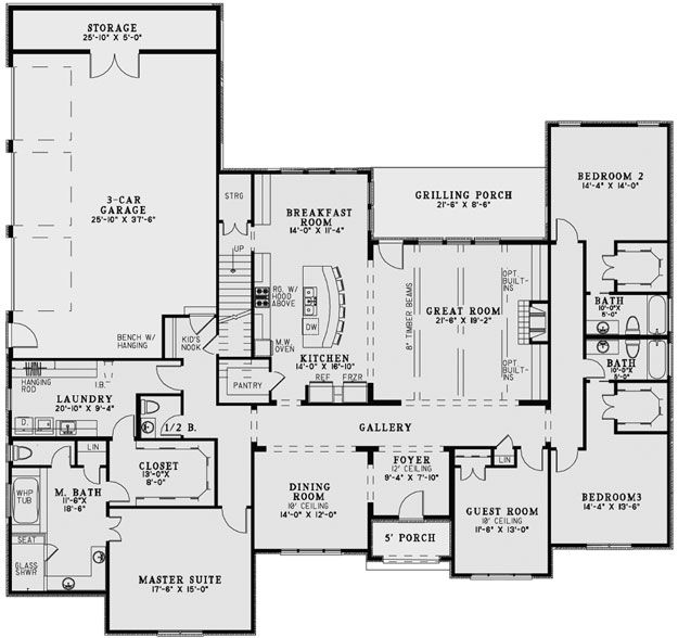 House Plans Home Plans And Floor Plans From Ultimate Plans European House Plan Monster House Plans House Flooring