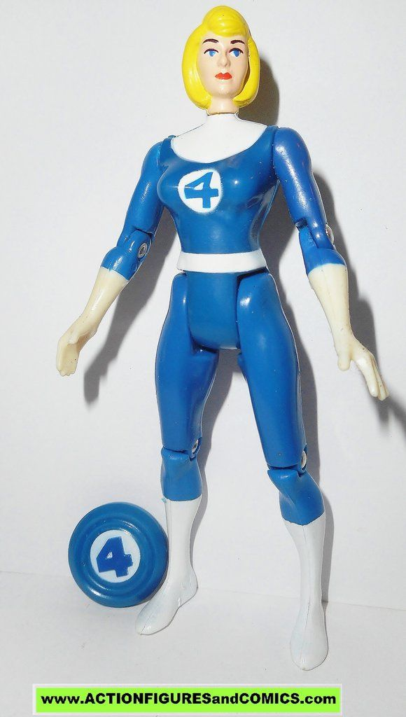 Marvel Superheroes Fantastic Four Invisible Woman ToyBiz 1994