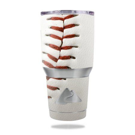 MightySkins Protective Vinyl Skin Decal for  30 oz Tumbler wrap cover sticker skins Baseball - Walmart.com