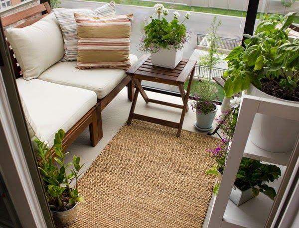 small condo patio outdoor