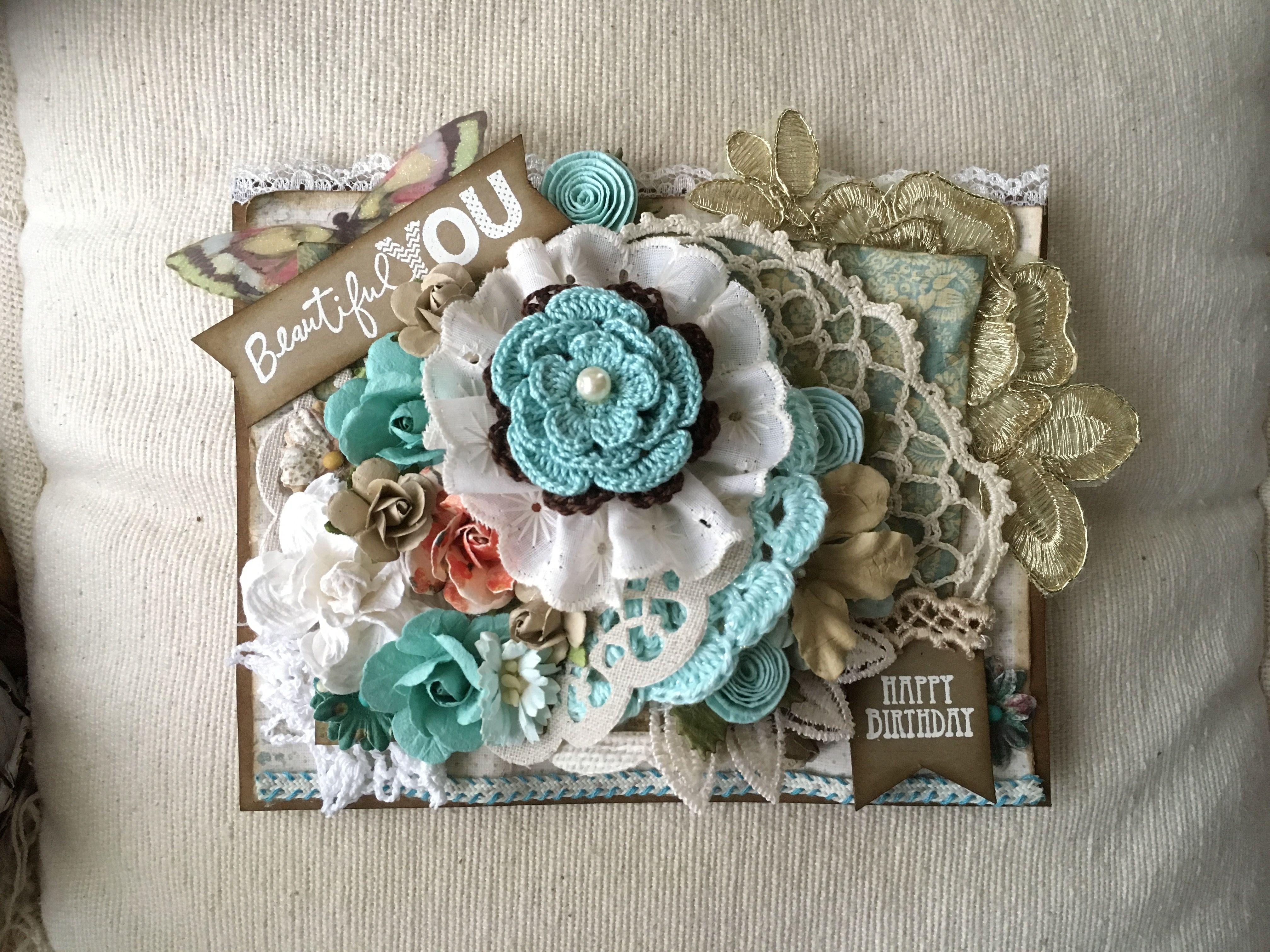 """""""Beautiful You"""" Birthday Card"""