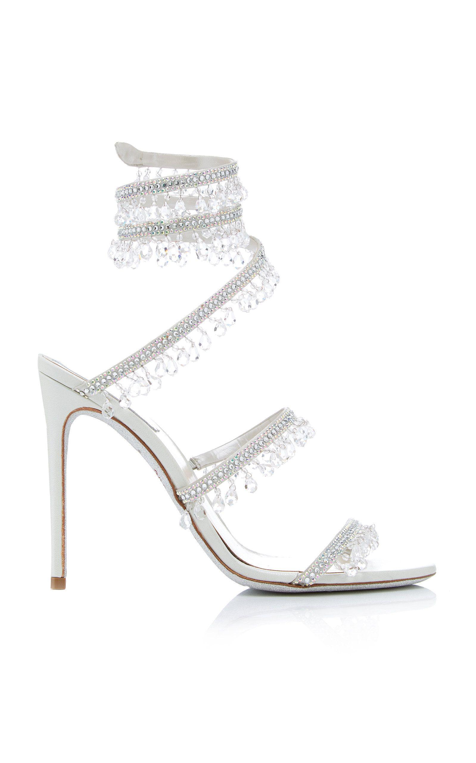 Exclusive Crystal-Embellished Sandal By