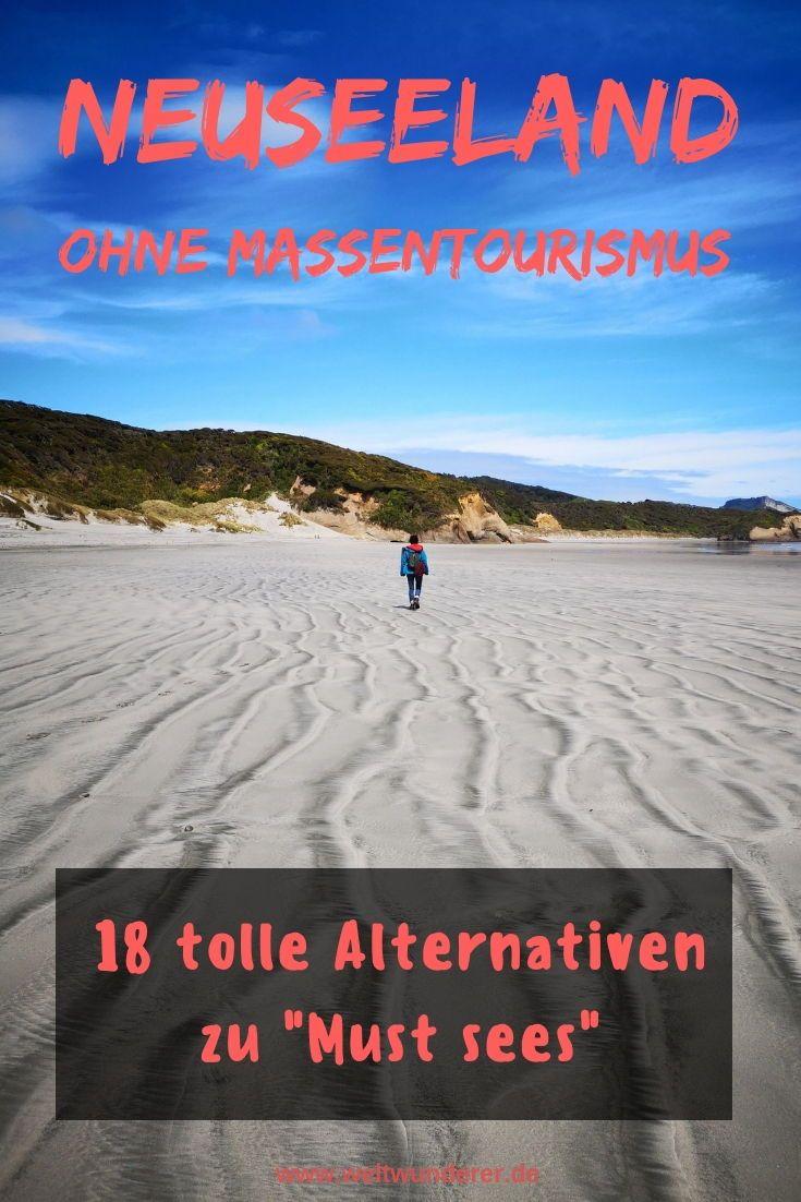 Neuseeland ohne Massentourismus: 18 tolle Alternativen   weltwunderer