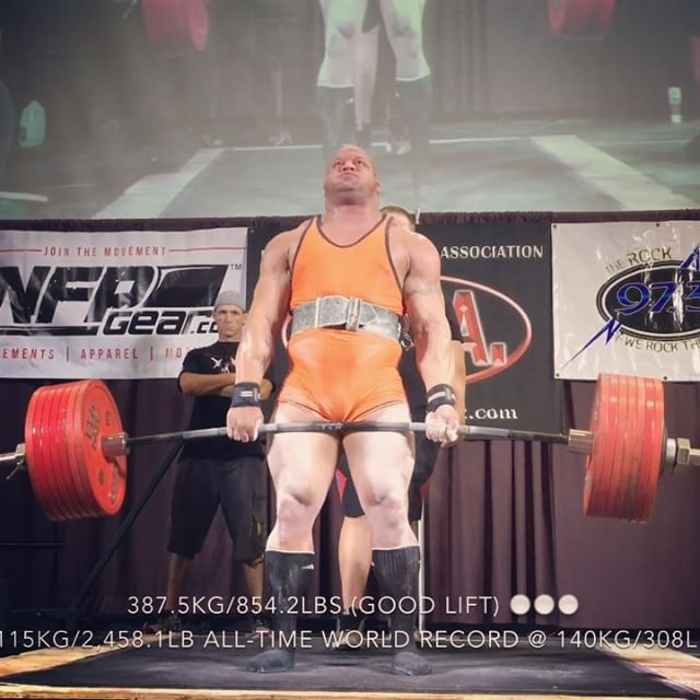 477.5kg/1,052.6lb All-Time World Record Raw Squat w/ wraps &…