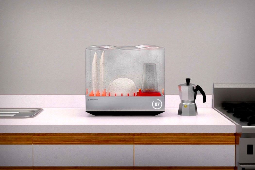 An Aquarium For Your Dishes Yanko Design Icone