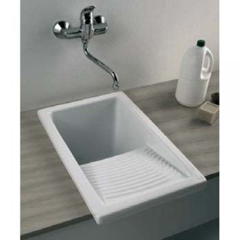 Laundry Sinks Utility Small 610mm X 395mm Ceramic Apron Fronted Kitchen Laundry Sink Small Laundry Sink Laundry Room Sink Laundry Tubs