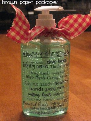 Christmas Hand Sanitizers Hand Sanitizer Frugal Christmas