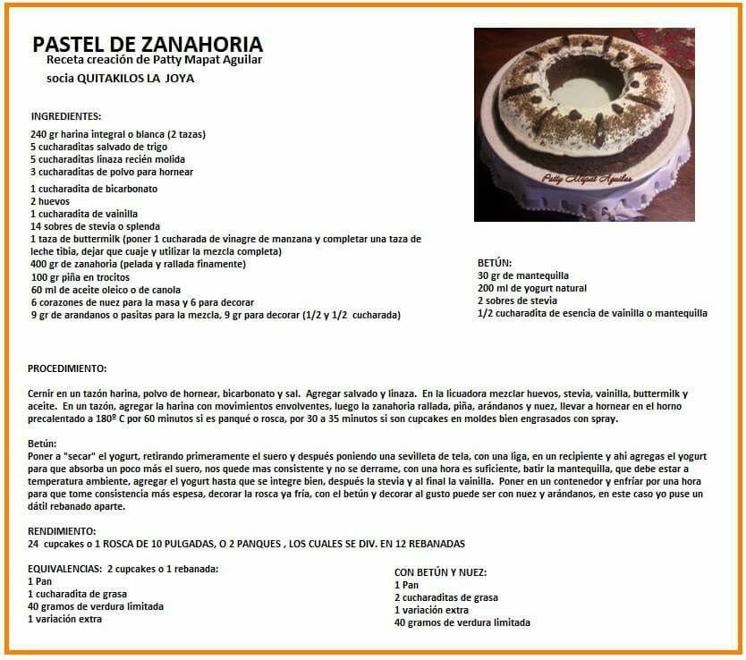 pastel de zanahoria quitakilos pinterest food food brownies