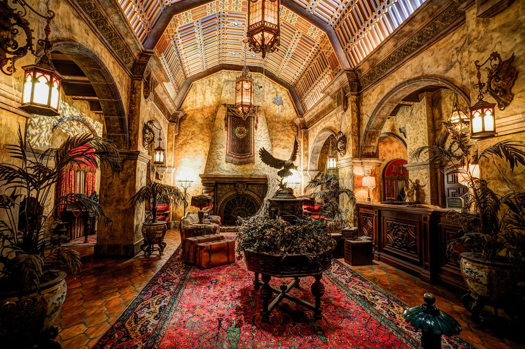 Image result for lobby of the tower of terror