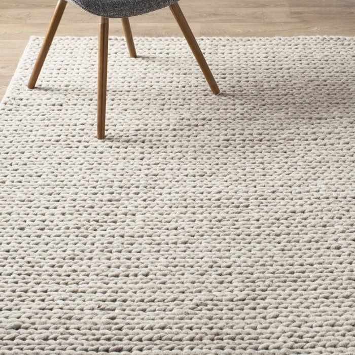 Arviso Handmade Braided Wool Off White Area Rug With Images