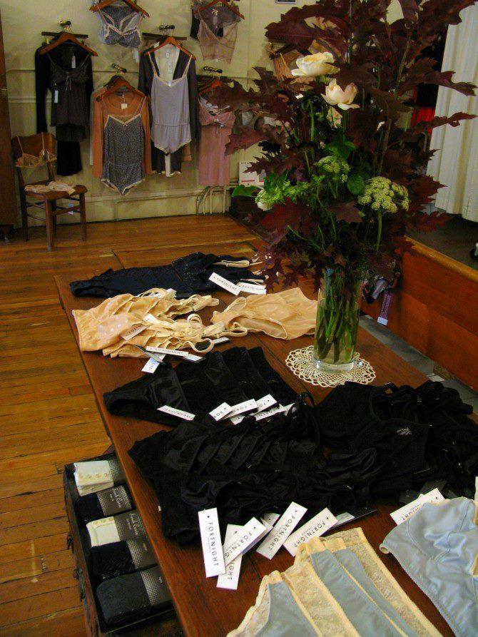 Boutique Design Lille fortnight lingerie: on the racks & tables at lille boutique (nov