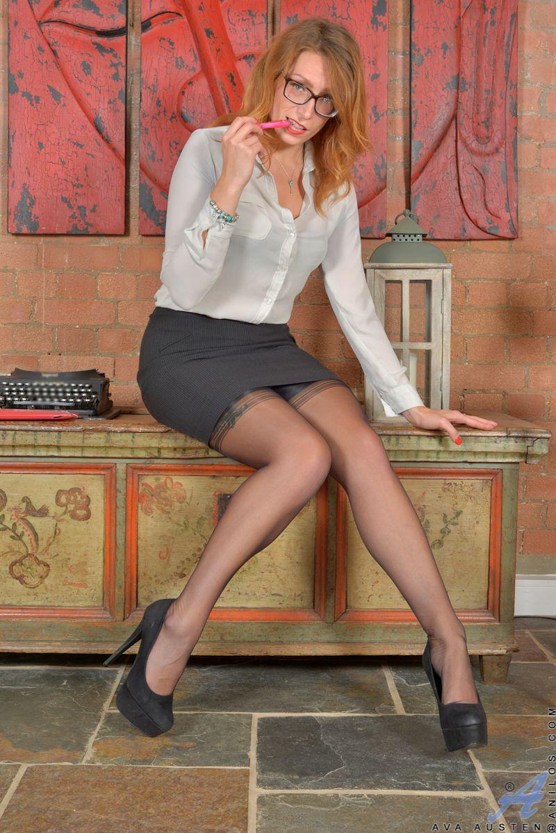 Ava Austen In Stockings