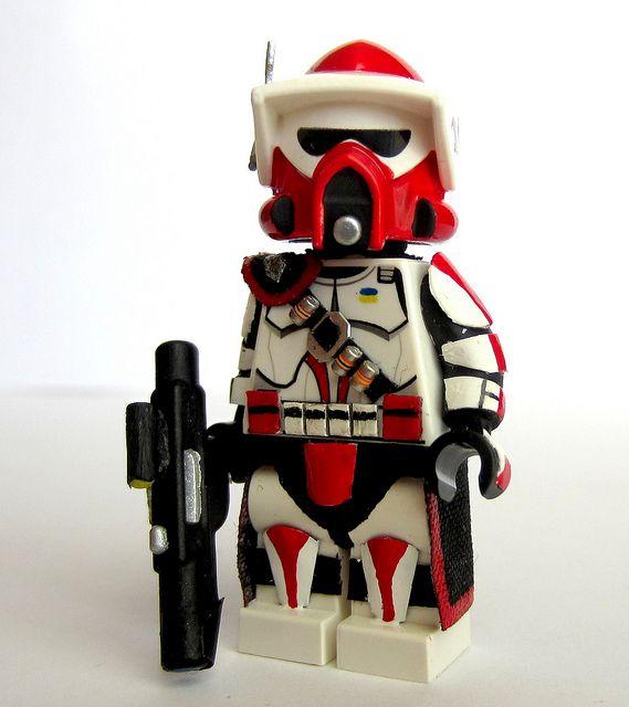 LEGO StarWars Elite ARC /& ARF Clone Trooper Commando Droid Minifigures ONLY 9488