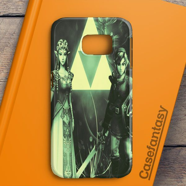 Link Zelda Love Princess Samsung Galaxy S6 Edge Case | casefantasy
