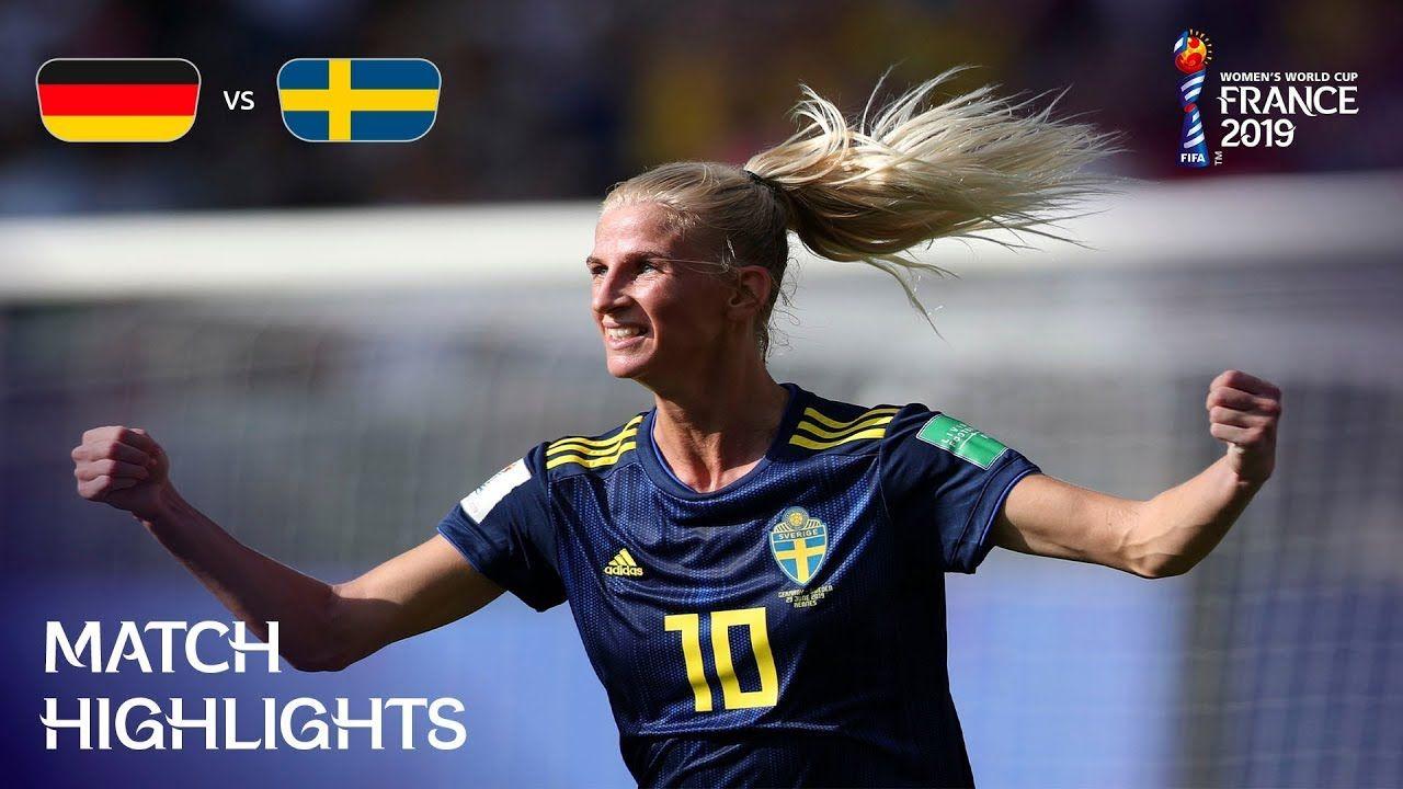 Germany v Sweden FIFA Women's World Cup France 2019