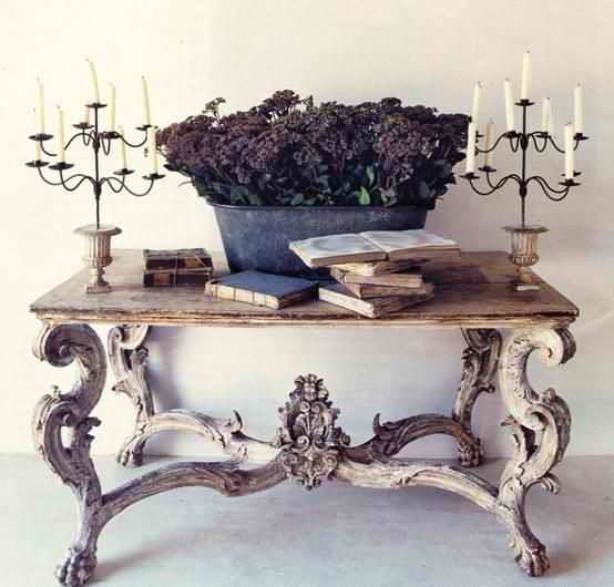 Old Vintage Table Decor Home Decor Furniture Inspiration