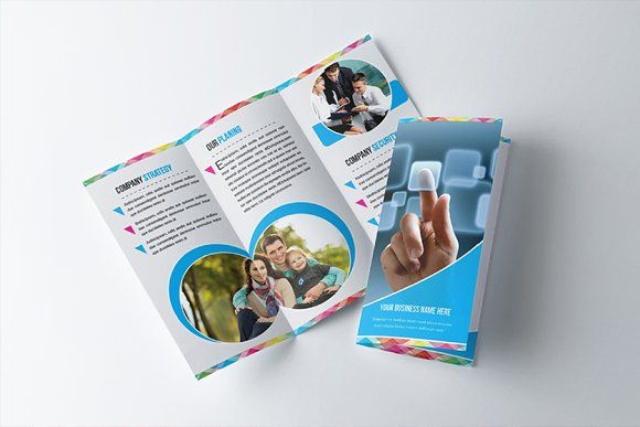 Multipurpose Trifold Brochure By Designfx On Creativemarket