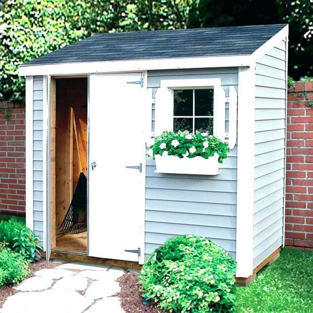 Interesting Small Storage Shed Ideas For Your Garden 18 Small Garden Shed Backyard Sheds Garden Shed Diy Backyard garden shed ideas