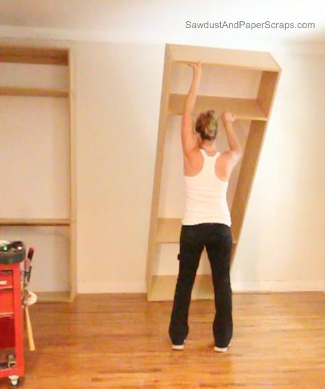 diy built ins for the closet stuff i need to craft pinterest begehbarer. Black Bedroom Furniture Sets. Home Design Ideas