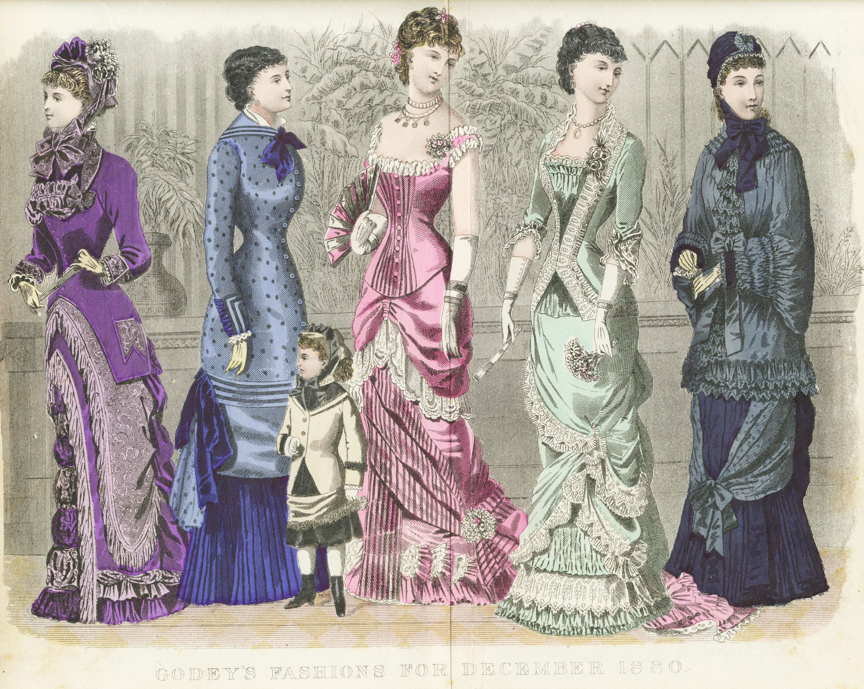 Dresses 1880 style homes
