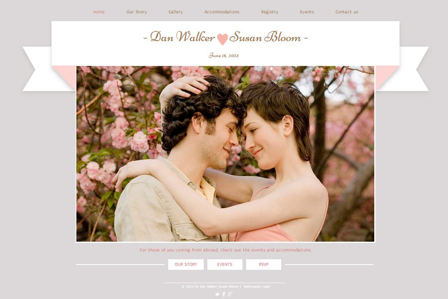Create A Stunning Wedding Website With These 7 Tips Intimate Weddings Small Blog
