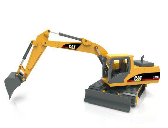 Cat 320d Excavator Juguetes Juguetes De Madera Y Madera