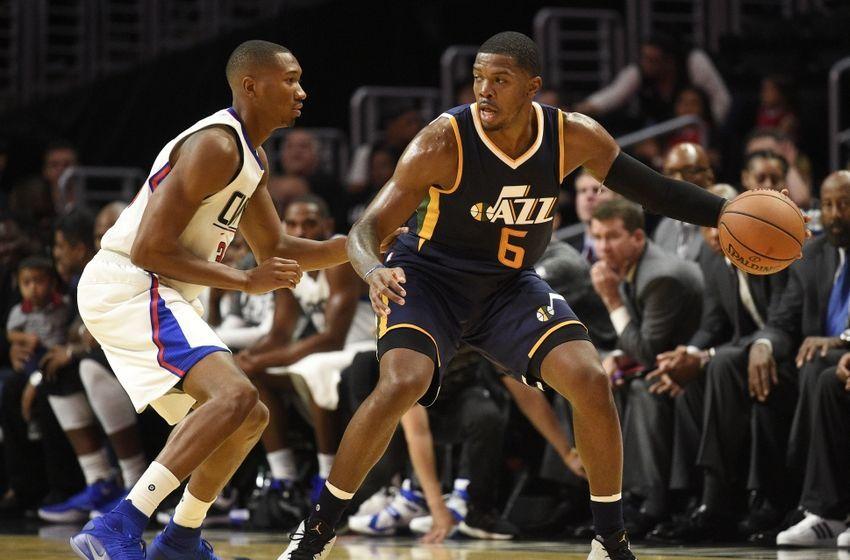Joe Johnson Utah 9600759 Joe Johnson Wesley Johnson Nba Preseason Utah Jazz Los Angeles Utah Jazz Nba News Los Angeles Clippers