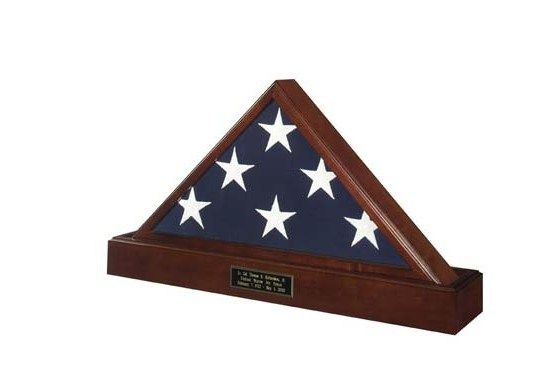 Marine Corps Flag And Pedestal Case Flag Display Cases Burial