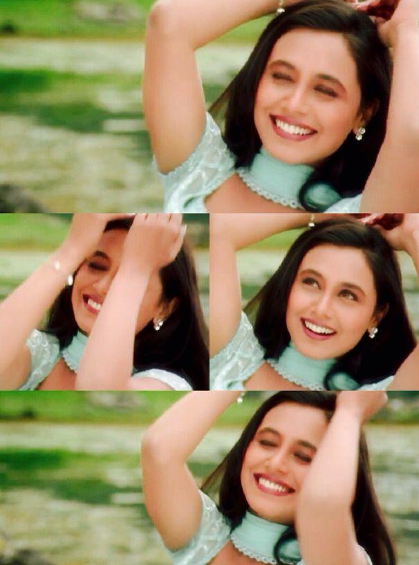 Pastel Rani Mukerji In Kuch Kuch Hota Hai Bollywood Makeup Beautiful Actresses Bollywood Celebrities