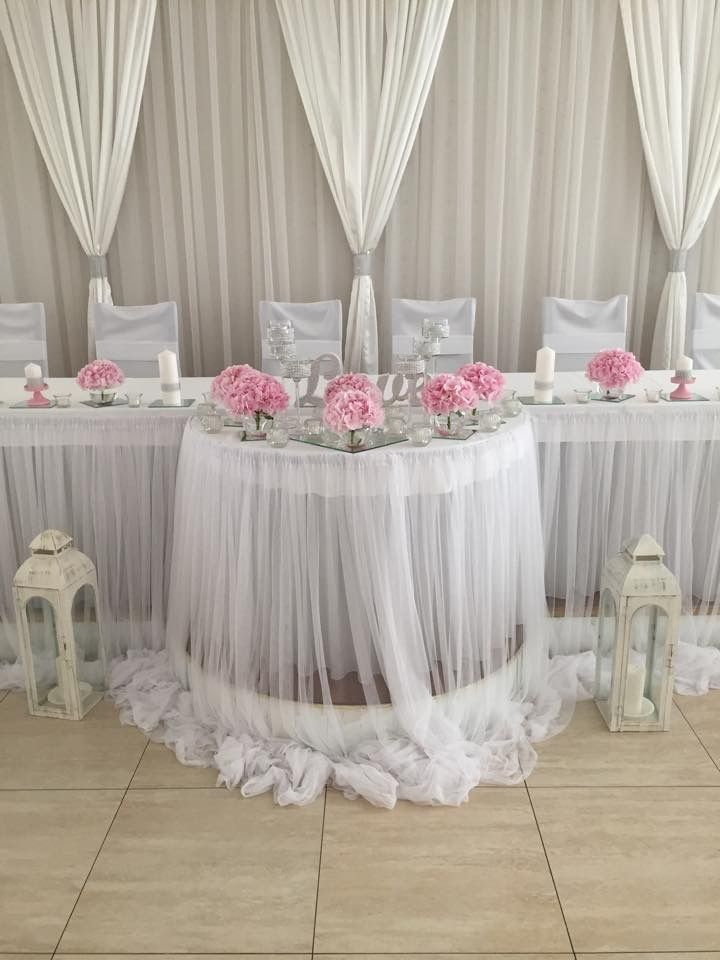 Stylish Wedding Reception Head Table Stylish Wedding Receptions