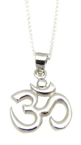 Sterling silver om symbol pendant necklace 18 om aum ohm yoga sterling silver om symbol pendant necklace 18 om aum ohm yoga jewelry check out the image by visiting the link aloadofball Gallery