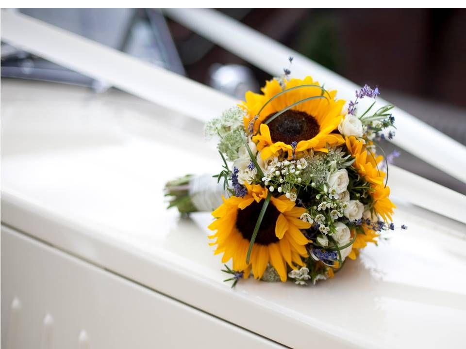 10+ Small sunflower wedding ring ideas