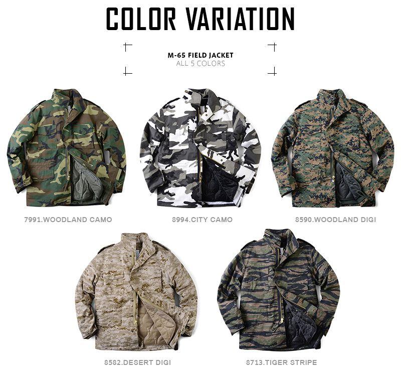 【楽天市場】ROTHCO ロスコ M-65フィールドジャケット CAMO:ミリタリーセレクトショップWIP