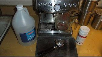 Breville Bes870xl Barista Express Descaling R Brown Breville Espresso Machine Coffee Maker Machine Coffee Machine