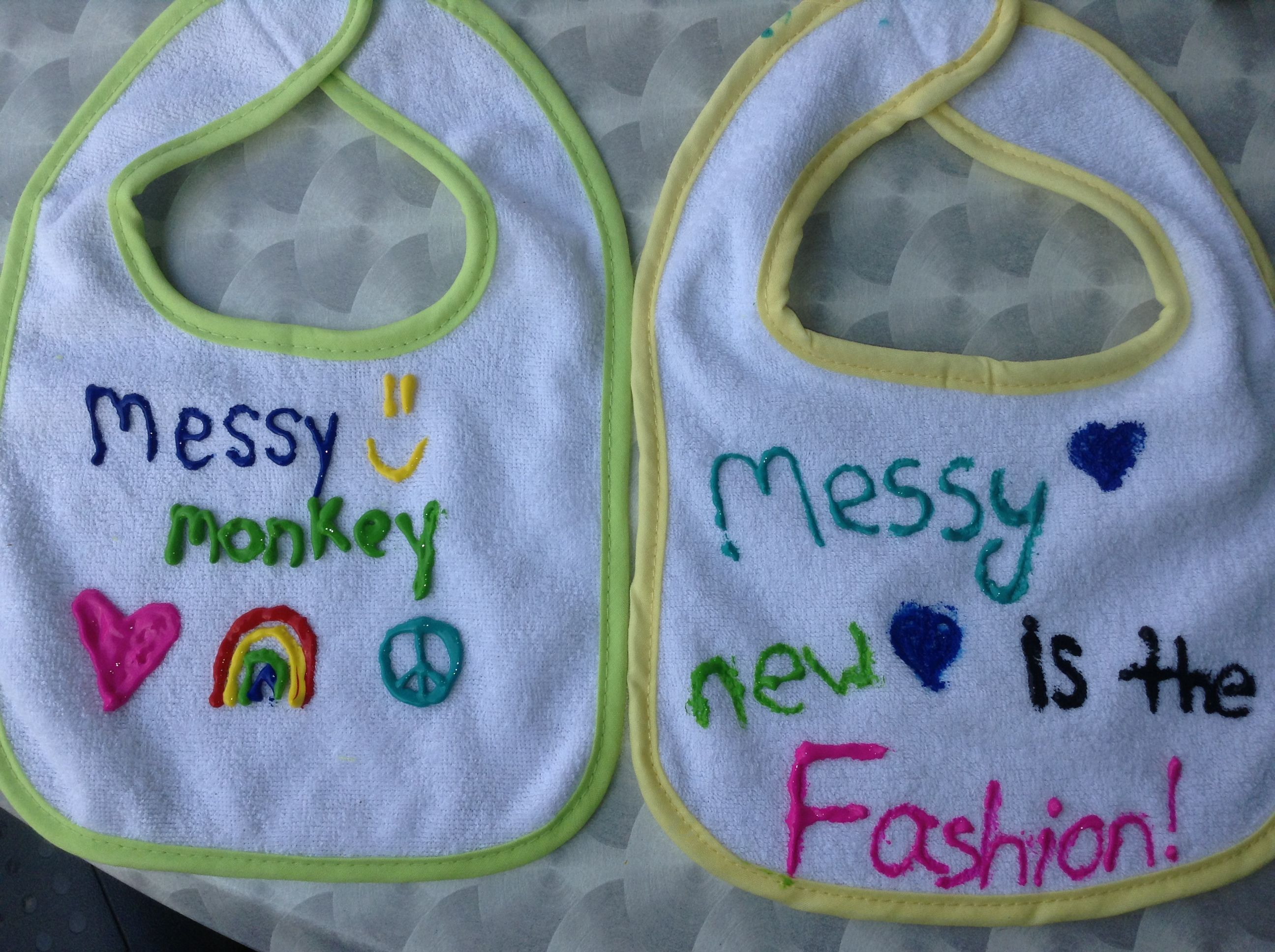 baby shower activities perfect for kids get fabric markers paint