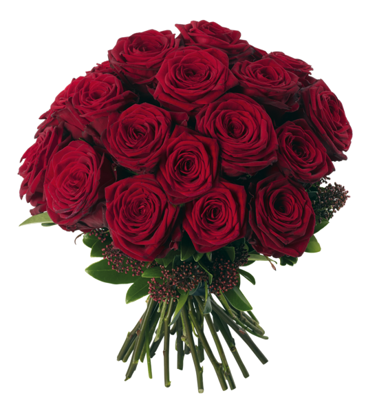 Transparent Red Roses Bouquet PNG Clipart Picture Red