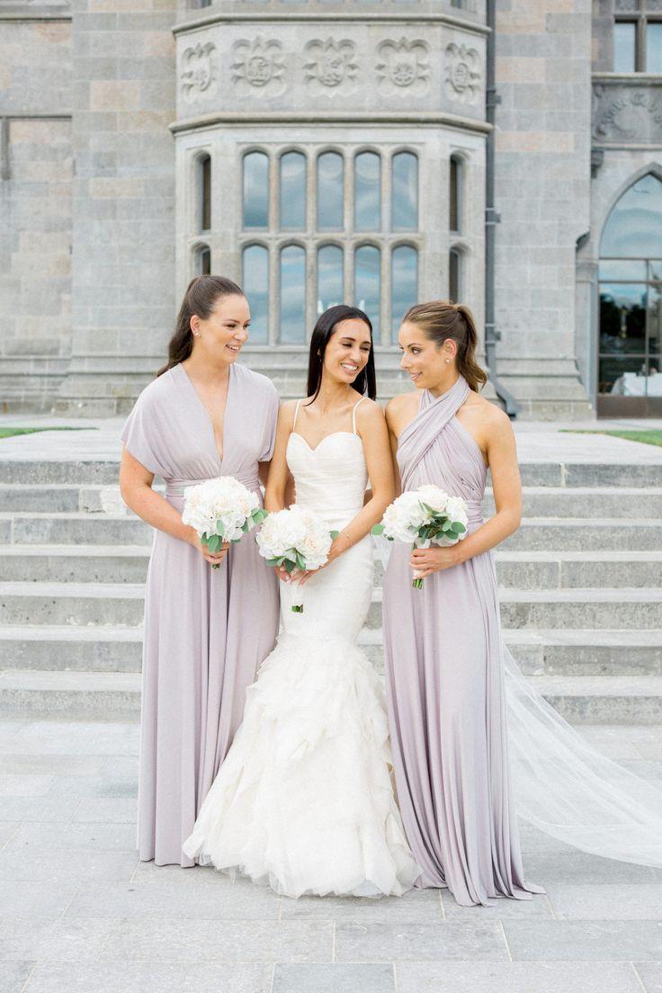 Black tie destination wedding at adare manor in ireland