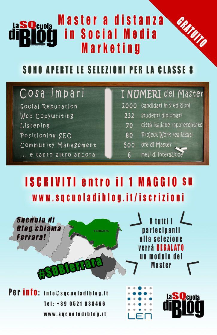 SQcuola di Blog chiama Ferrara #SDBferrara