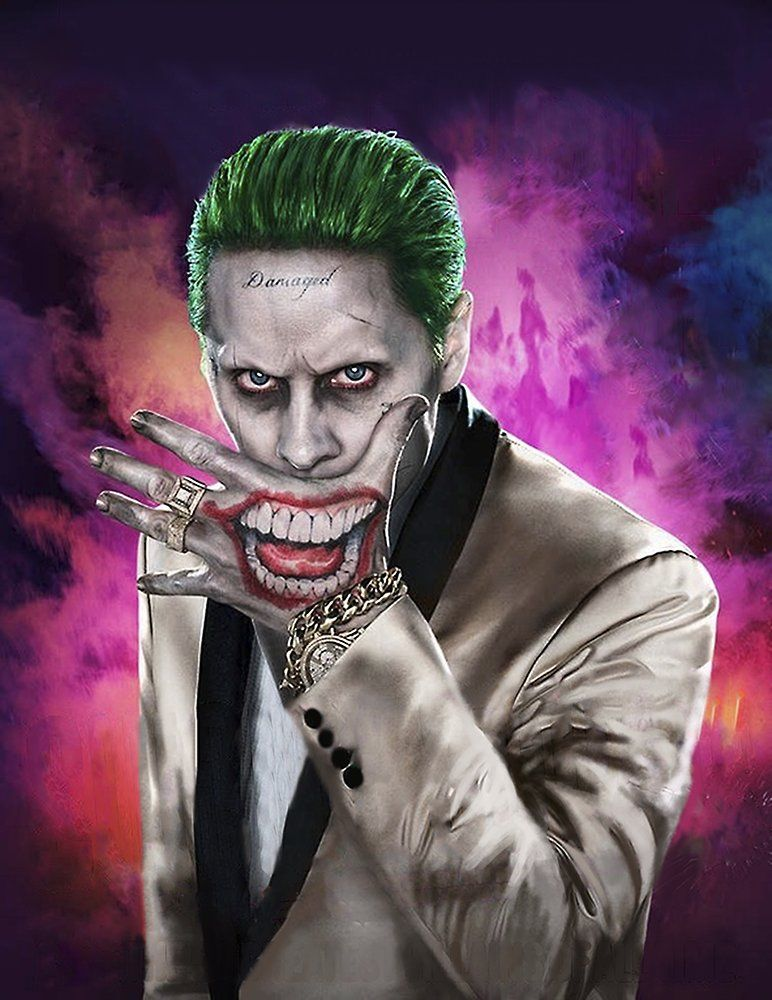 Jared Leto As The Joker In The Suicide Squad Harley Quinn