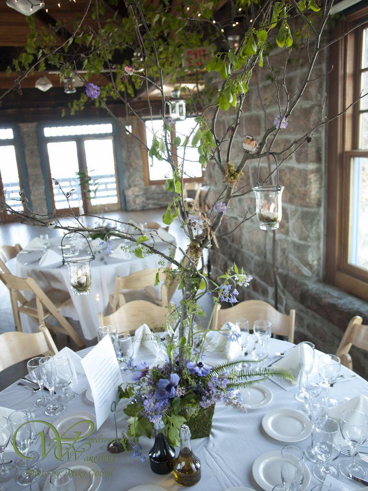 Fairy Garden Wedding Tall Centerpiece At The Towers