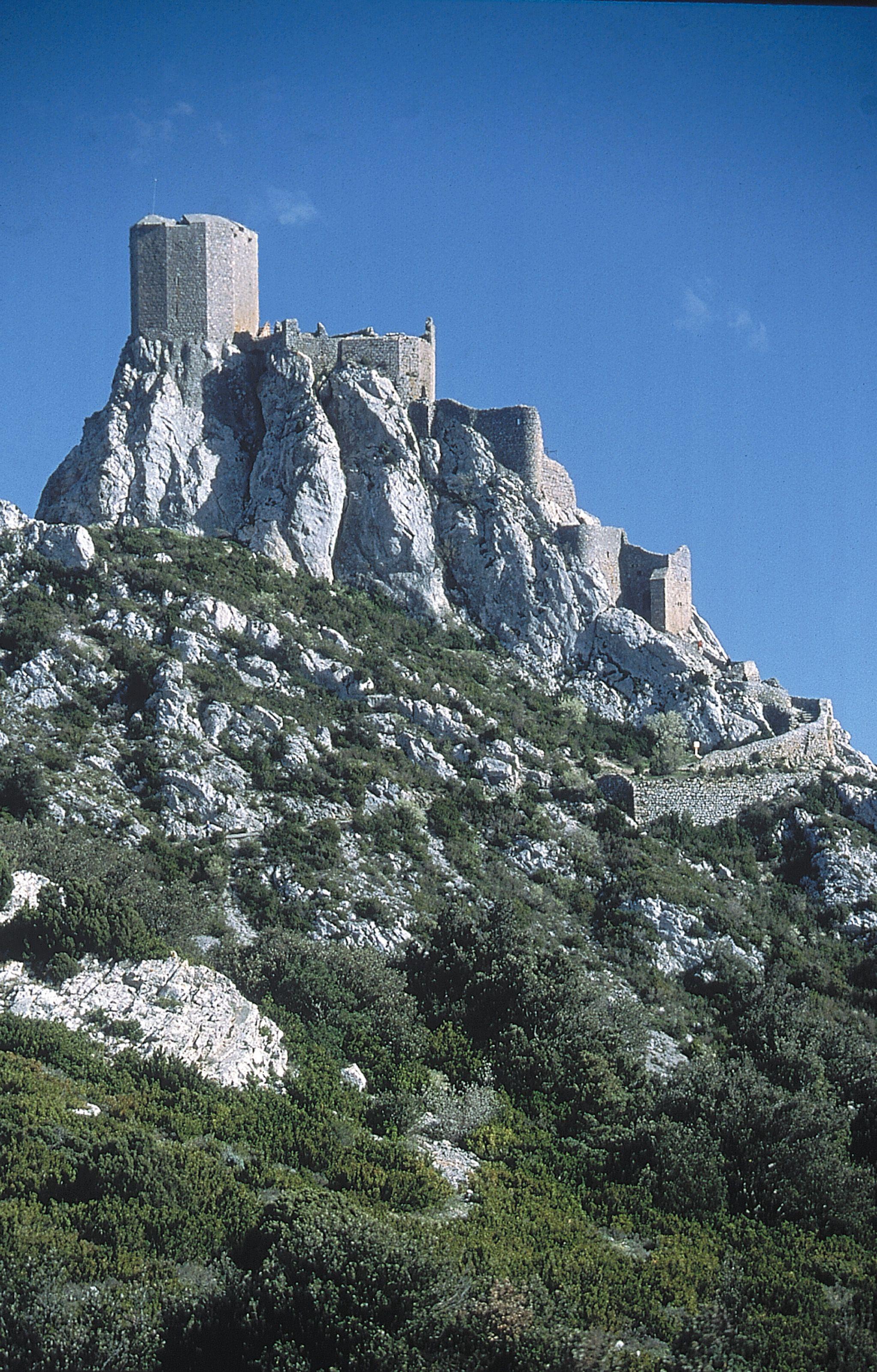 Cathar Castle Montsegur   Reisen
